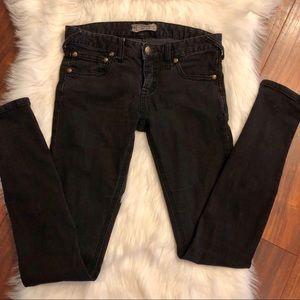 <Free People> Black Skinny Jeans